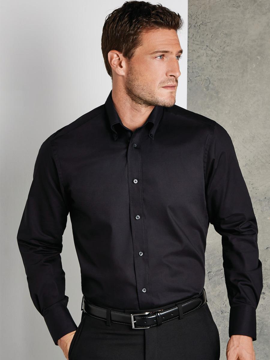 KK386 Tailored Fit Long Sleeve City Shirt