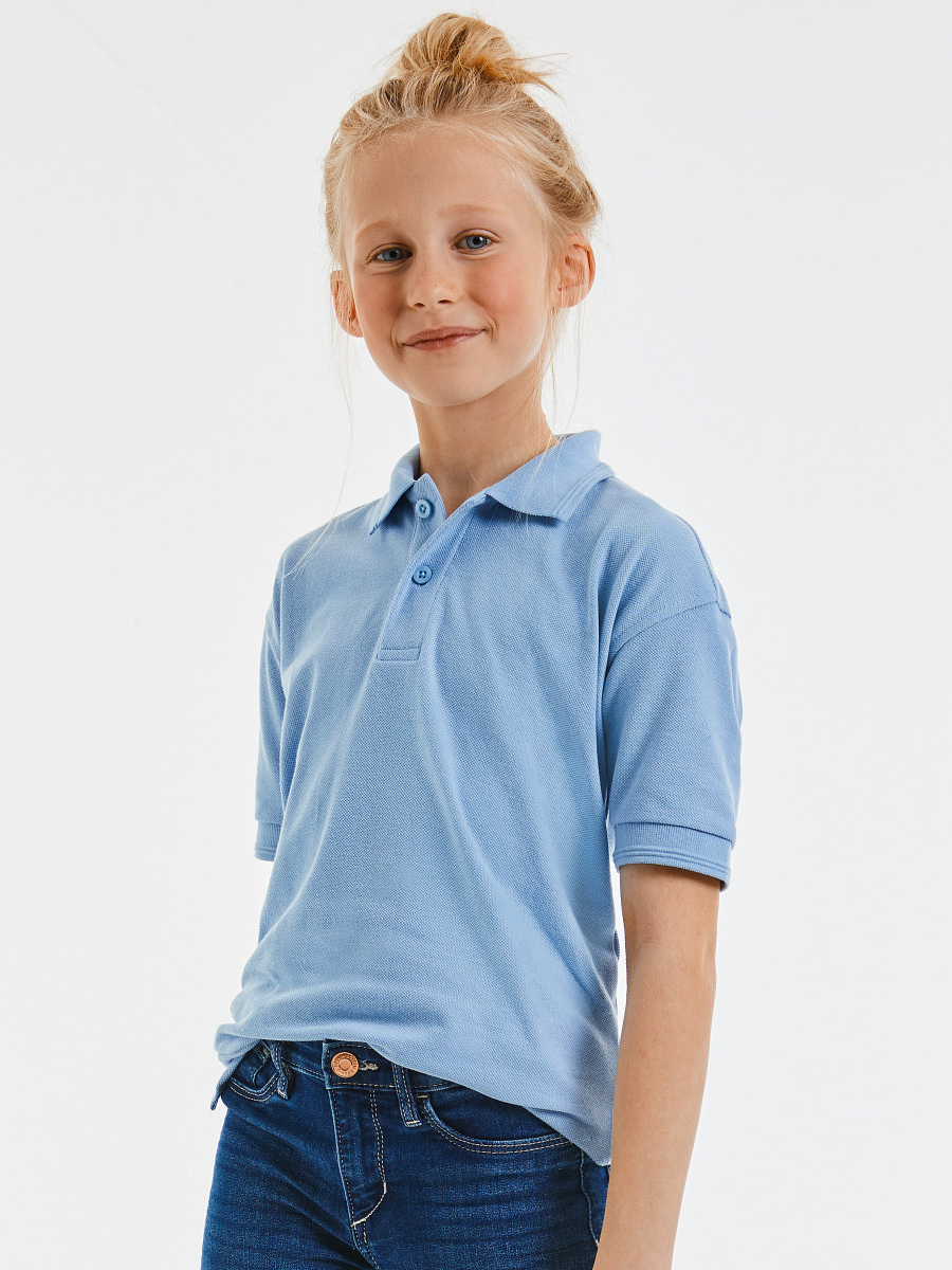 599B Children's Hardwearing Polycotton Polo