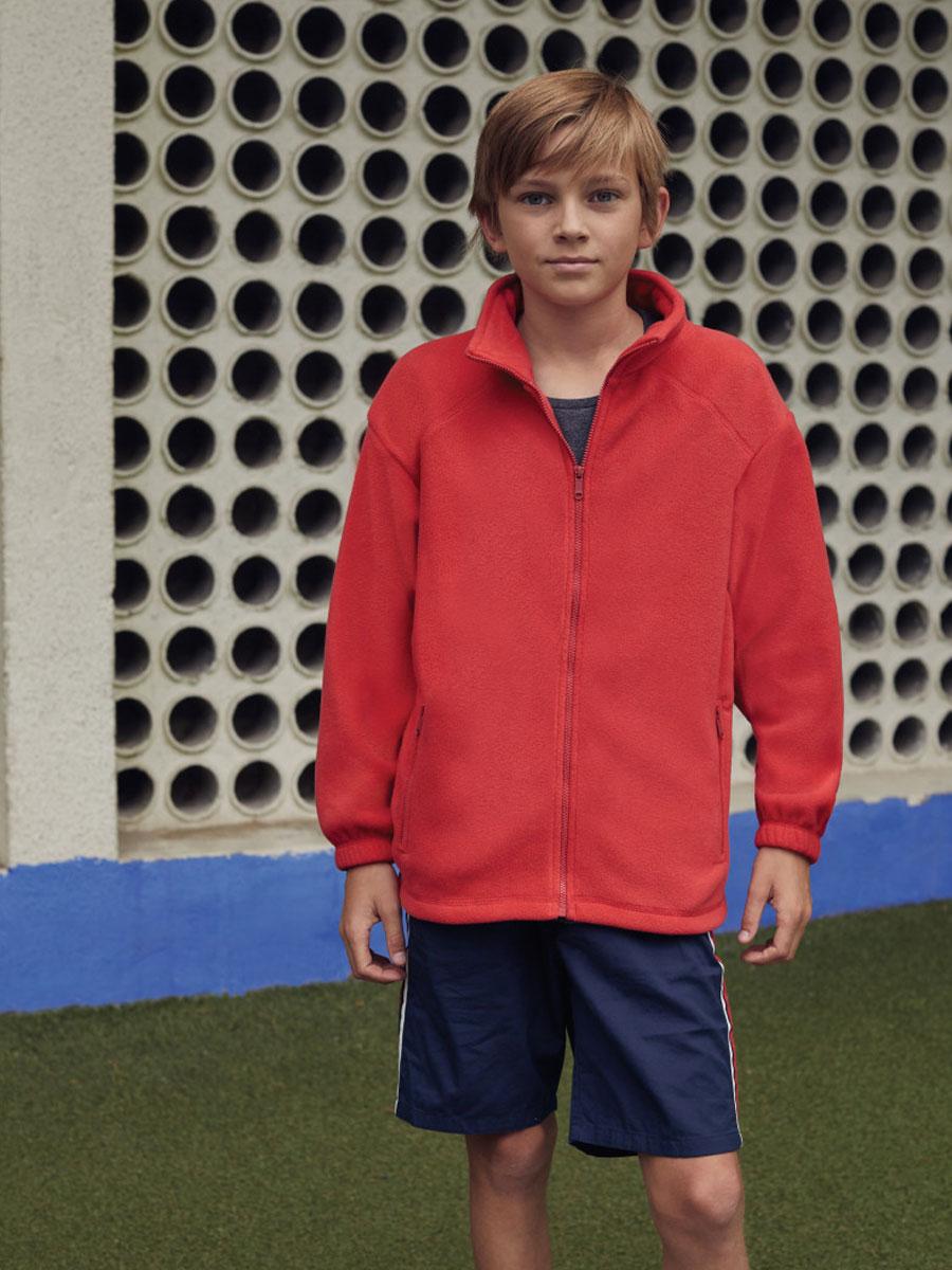 62511 Kid's Full Zip Fleece