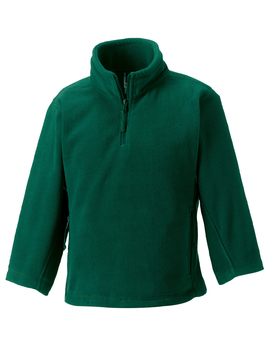 874B Children's 1/4 Zip Outdoor Fleece