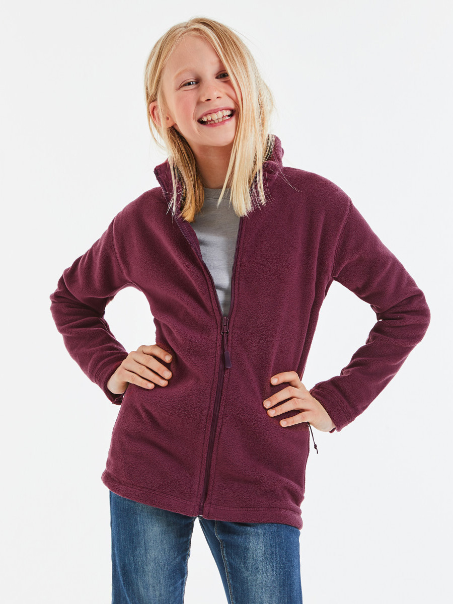 8700B Children's Full Zip Outdoor Fleece