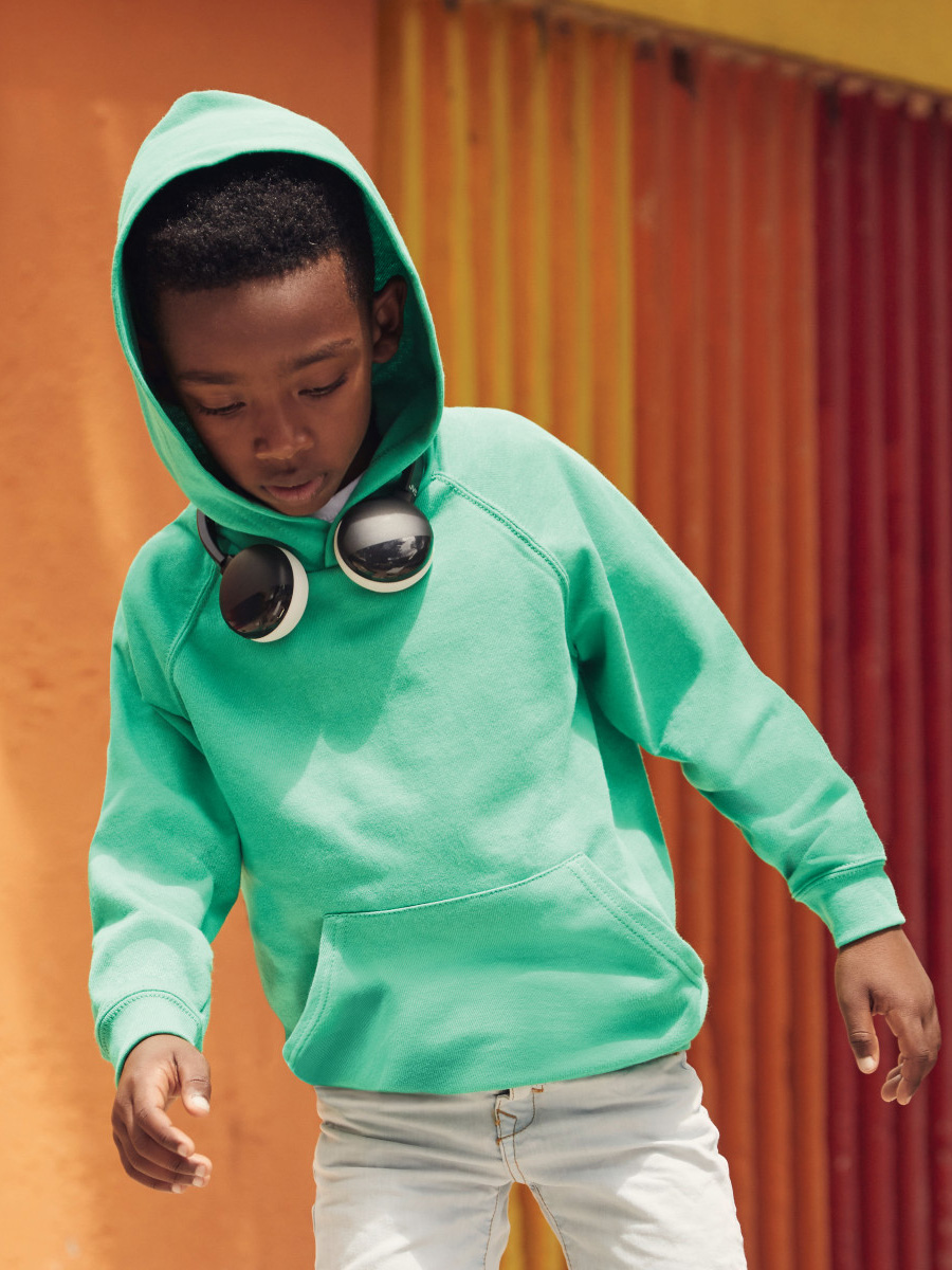 62009 Kid's Lightweight Hooded Sweat