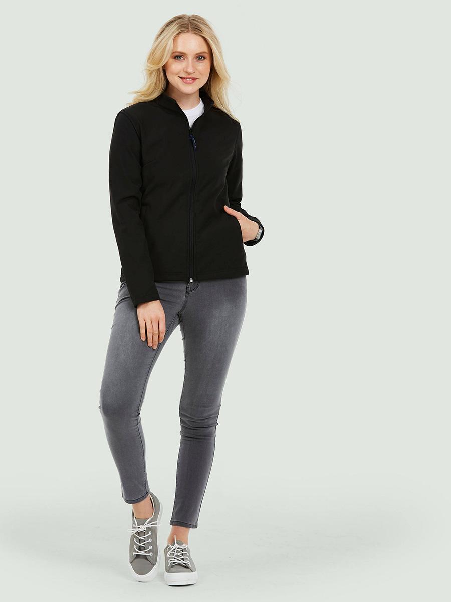 UC613 Ladies Classic Full Zip Soft Shell Jacket