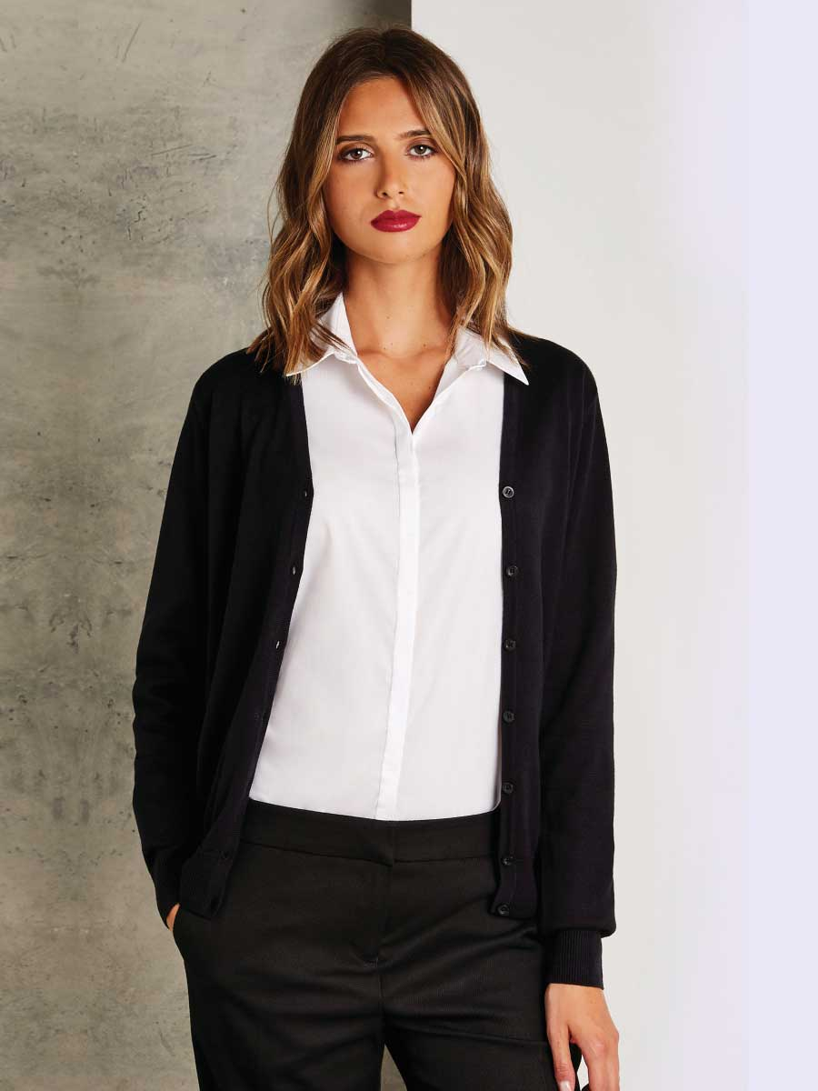 Regular Fit Arundel V-Neck Cardigan