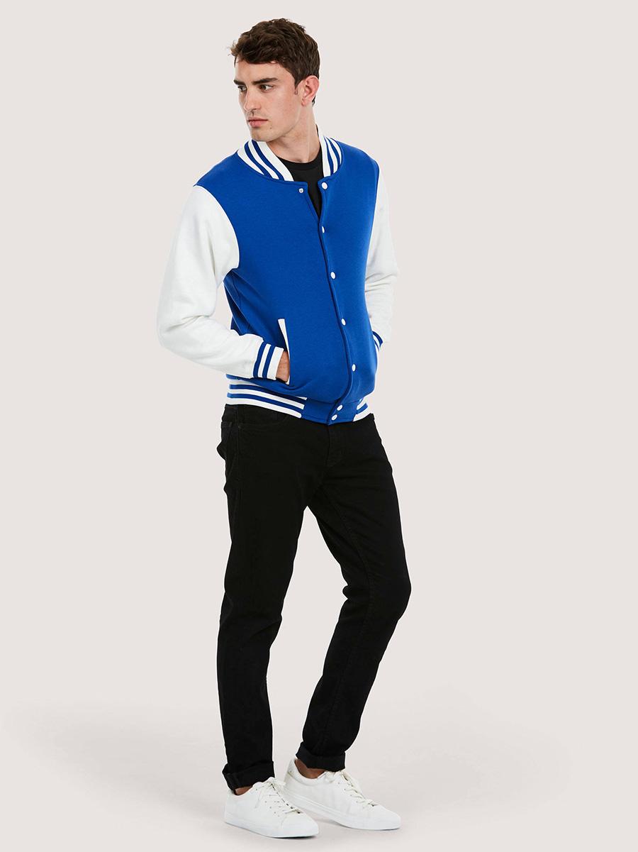 UC525 Mens Varsity Jacket