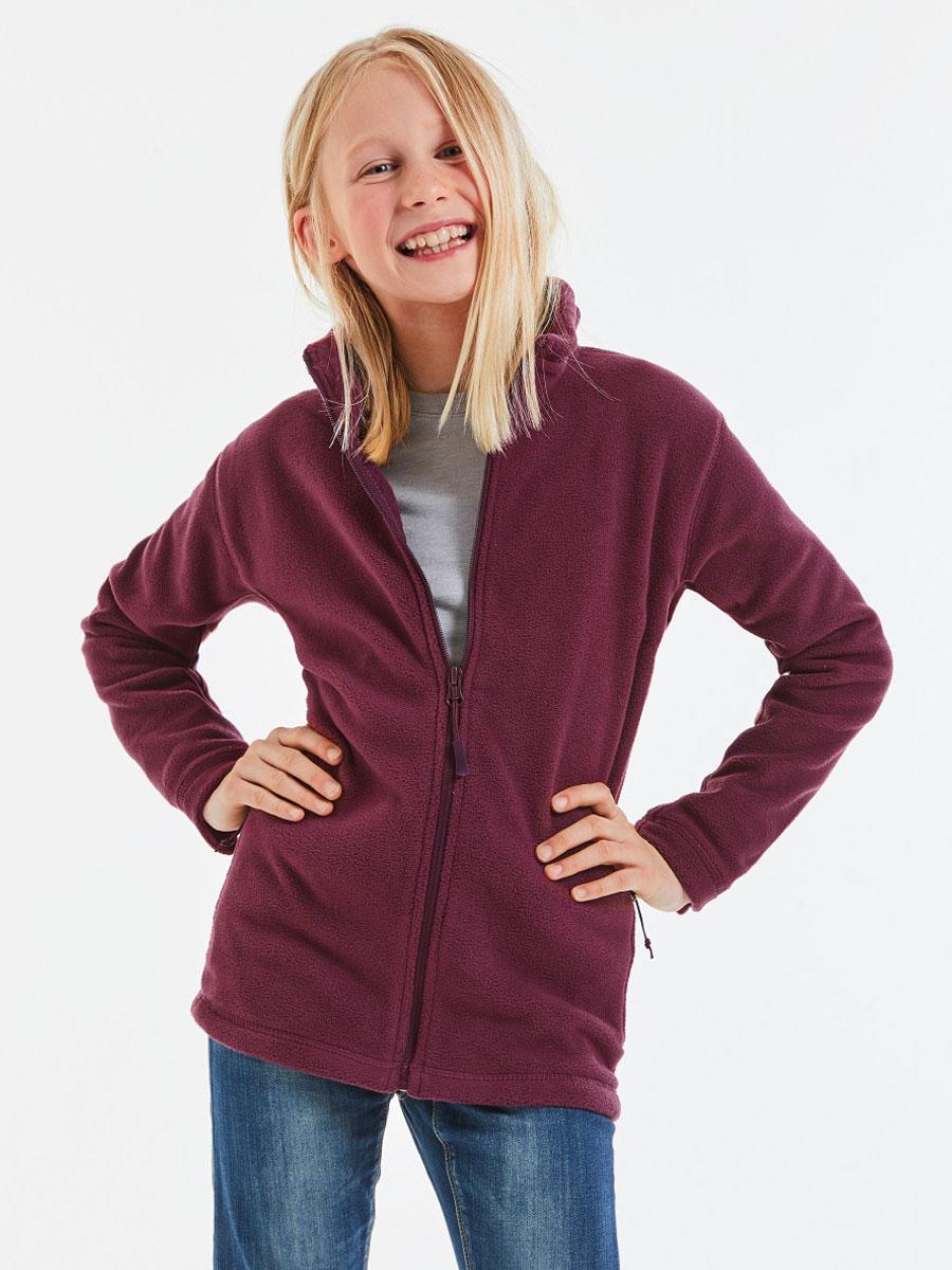 Children's Full Zip Outdoor Fleece